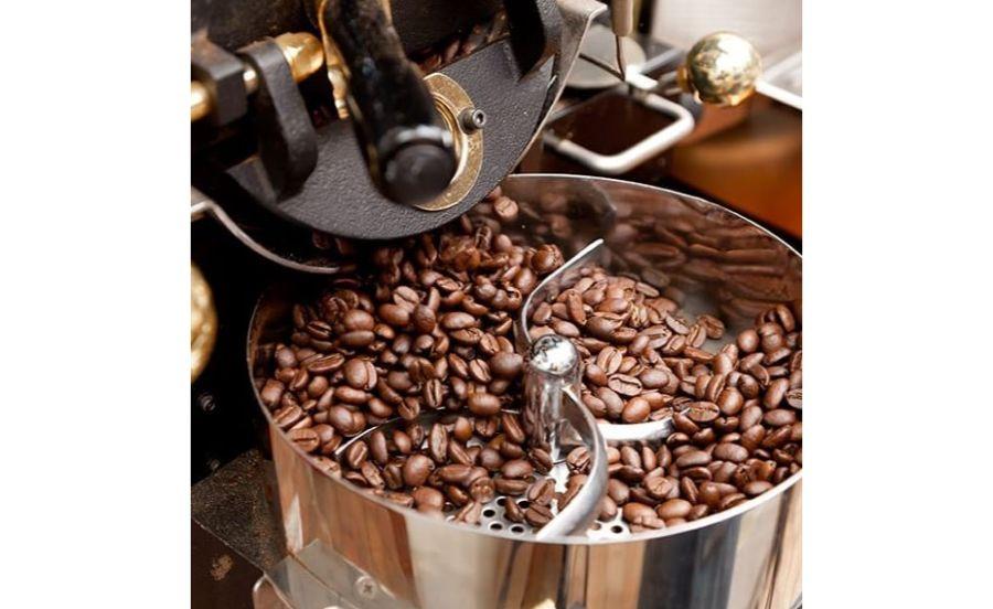 caffetteria gatto neroの焙煎機