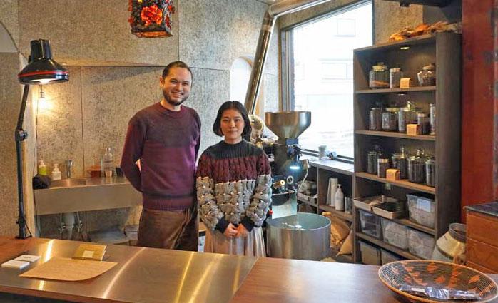 大山崎コーヒーロースターの中村ご夫妻