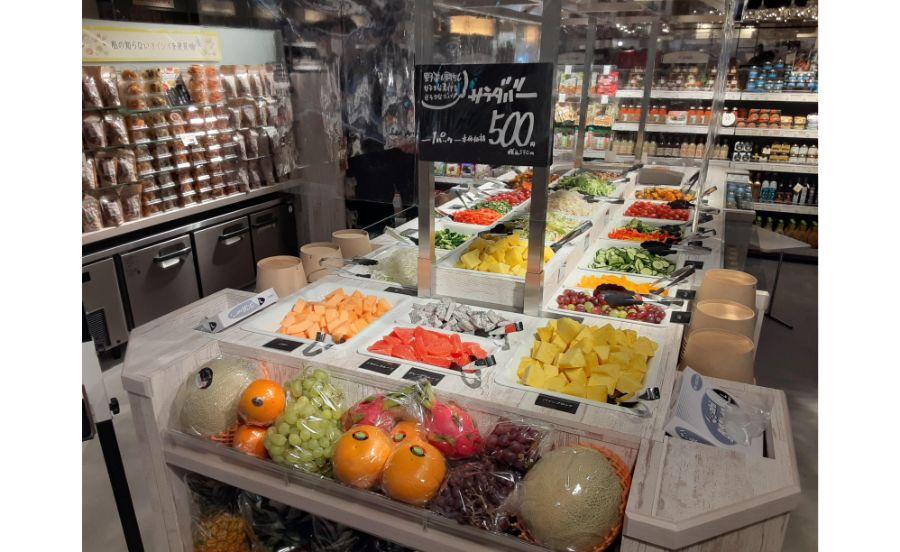 キッチン&マーケットのサラダバー