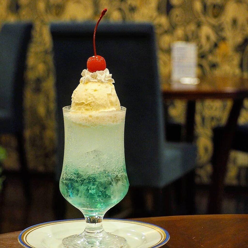 前田珈琲のクリームソーダ