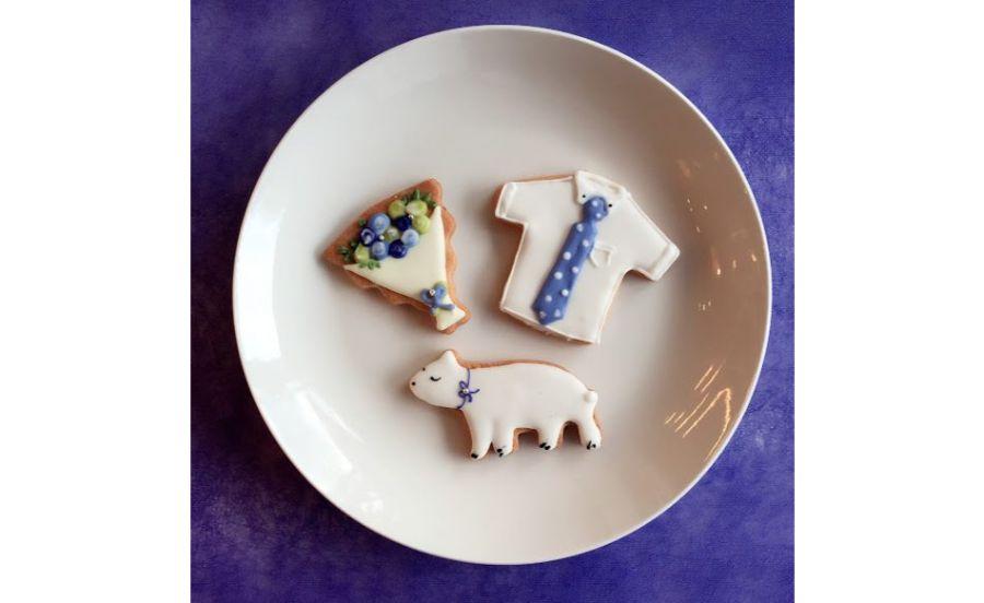 西北菓子工房シェ・イノウエのアイシングクッキー