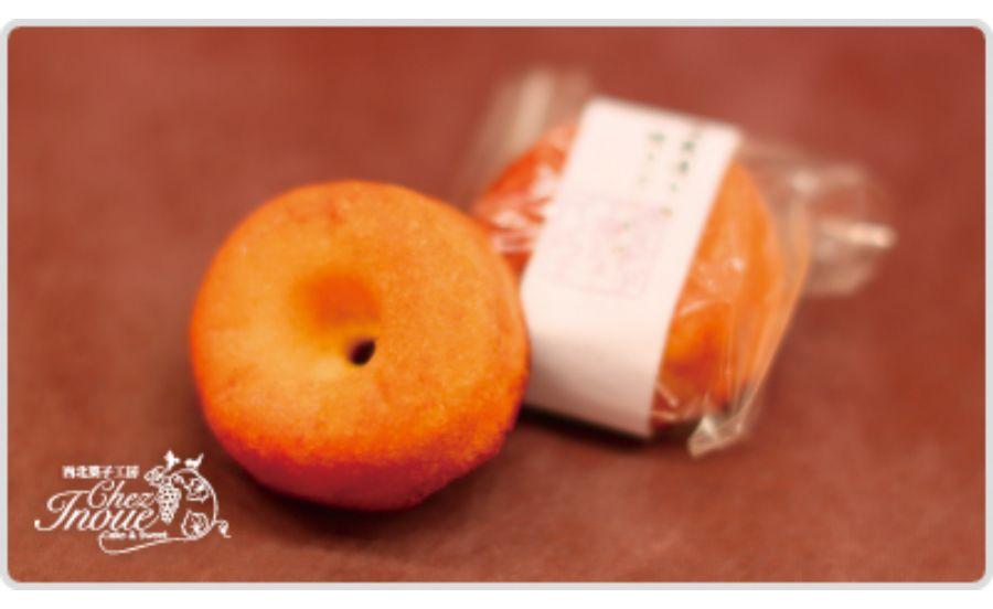 西北菓子工房シェ・イノウエの酒蔵通りの焼きドーナツ