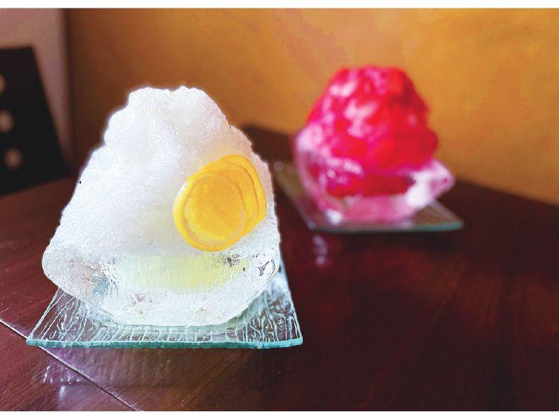 pageone_のかき氷2種
