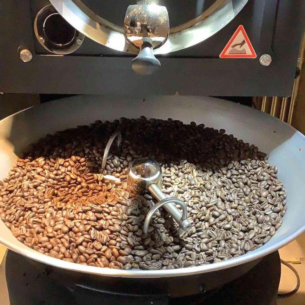 アエレコーヒーロースターのコーヒー豆2