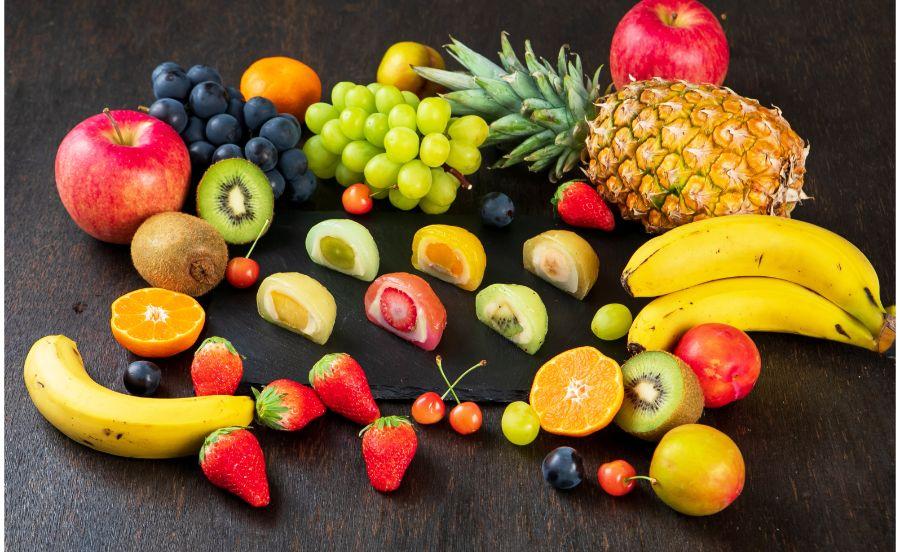 KYOTO SOUZENの果実とわらびいろいろ