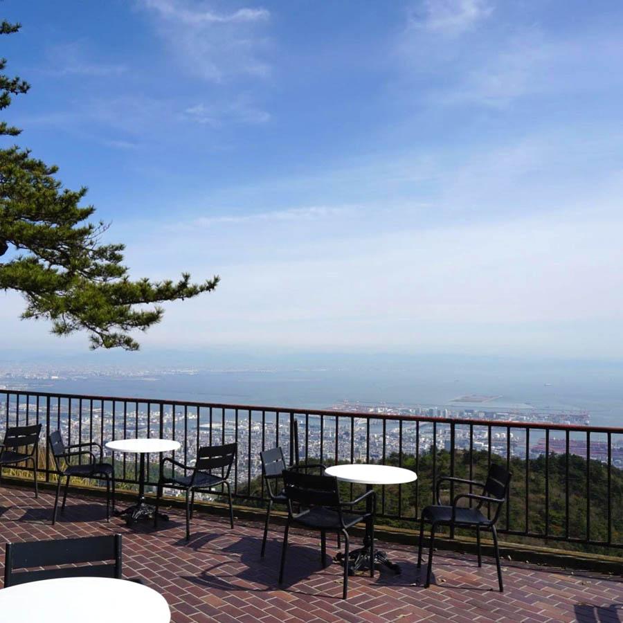 TENRANカフェから眺める絶景